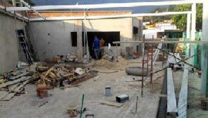 Así avanza la construcción del restaurante escolar. - Suministrada/GENTE DE CAÑAVERAL