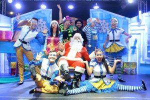 La Corporación Rhapsodia cuenta con un impecable espectáculo que integra teatro, canto, baile, acrobacias y danza aérea. - Fabián Hernández/GENTE DE CAÑAVERAL