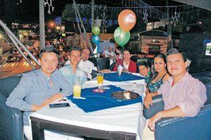 John Hernández, Viviana Méndez, César Gómez, Miryam Hernández, César Gómez, Marlon Pereira y Adrián Fernández. - Karen Camacho/GENTE DE CAÑAVERAL
