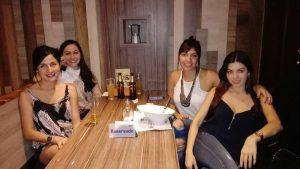 Natalie Benjumea, Juliana Villamizar, Dayana Cely y Alejandra Ríos.   - Suministrada/GENTE DE CAÑAVERAL