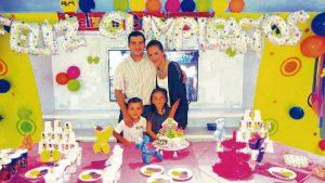 Suministrada/GENTE DE CAÑAVERAL Óscar Quintero, Liliana González, Samuel Quintero González y Luciana Quintero González.