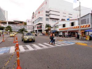 Este es uno de los puntos neurálgicos para los peatones, según expone el lector. - Suministrada / GENTE DE CAÑAVERAL