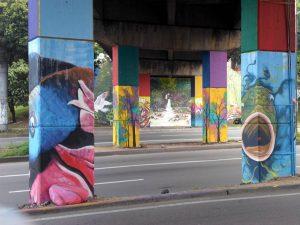 Figuras con colores explosivos forman parte de esta restauración.  - Suministrada/GENTE DE CAÑAVERAL