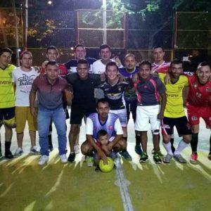 El Combo de la Flaca fue el equipo ganador del Quinto Campeonato de Microfútbol Masculino, que se jugó en 2016.  - Suministrada/GENTE DE CAÑAVERAL