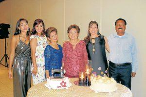 Andrea Ortiz, Mary Helen Castellanos, Adela Alarcón, Marcela Alarcón, Sandra Rocío Castellanos y Arturo Rodríguez. - Fabián Hernández/GENTE DE CAÑAVERAL