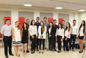 Esta es la delegación que estará en Nueva York representando a Colombia en el Modelo de las Naciones Unidas.   - Suministrada/GENTE DE CAÑAVERAL