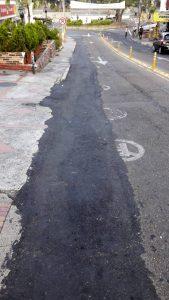 El ciudadano reclama por la mala imagen que dan estas obras al sector de Cañaveral. - Suministrada/GENTE DE CAÑAVERAL