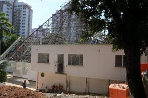 El próximo año se ejecutaría la segunda fase de este proyecto  en la parroquia Santa María Reina.  - Elver Rodríguez/GENTE DE CAÑAVERAL