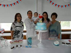 Doris García de Paillié, Jorge Enrique Paillié, Enrique Paillié, Paula Gómez Guevara y Lilia Guevara.  - Johan Calderón/GENTE DE CAÑAVERAL