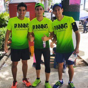 Los fundadores de Running Bucaramanga hacen la invitación a los deportistas interesados en correr en la Media Maratón de Barranquilla.  - Archivo /GENTE DE CAÑAVERAL