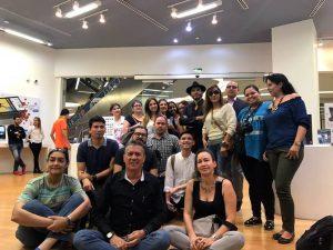 Grupo de  fotógrafos, camarógrafos y aficionados de las artes visuales que participaron del taller con el fotógrafo Raúl Higuera.  - Suministrada/GENTE DE CAÑAVERAL