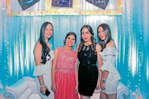 Sofía Rangel, Laura Gabriela Parra, Valentina Cancino y Angie Serrano.  - Elver Rodríguez/GENTE DE CAÑAVERAL