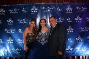 María Carolina Gómez, María Gabriela  Godoy Gómez y Rafael  Godoy.  - Suministrada/GENTE DE CAÑAVERAL