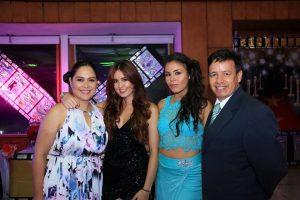 Elver Rodríguez/GENTE DE CAÑAVERAL Elvia Peñaranda, María Alejandra Peña, Isabela Peña Peñaranda y Gerardo Peña.
