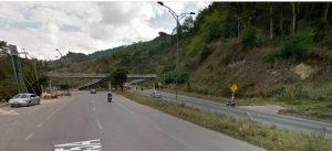 De acuerdo con la información suministrada por el lector, la nueva carretera perjudicaría principalmente a los residentes de Valle de Menzuly.  - Googlemaps/GENTE DE CAÑAVERAL