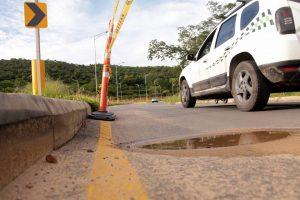 La malla vial de la segunda fase de la Transversal de El Bosque presenta nuevas fallas.  - Fabián Hernández /GENTE DE CAÑAVERAL