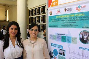 Leydi Fernanda Vásquez Patiño, egresada de Administración de Empresas e Investigadora UPB Bucaramanga y Gladys Elena Rueda Barrios, líder del Grupo de Investigación GIA UPB Bucaramanga. - Suministrada/GENTE DE CAÑAVERAL