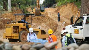 La obra se ejecuta con el fin de mejorar la movilidad en la zona.  - Suministrada/GENTE CAÑAVERAL