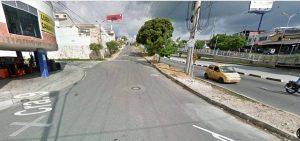 El cierre se realizará con el fin de ejecutar las obras que dan paso al Tercer Carril Floridablanca - Bucaramanga.  - Googlemaps/GENTE DE CAÑAVERAL