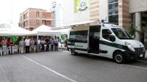 El CAI móvil se ubicará en diferentes sectores de la zona comercial de Cañaveral con el fin de combatir la delincuencia.  - Suministrada/GENTE DE CAÑAVERAL