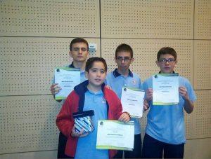 Los jóvenes estudiantes recibieron reconocimiento por su destacada participación. - Suministrada / GENTE DE CAÑAVERAL