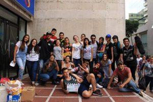"""Este es el equipo de producción del cortometraje """"Intruso"""", que revela las odiseas por las que atraviesan los venezolanos al emigrar de su país.  - Suministrada UPB/GENTE DE CAÑAVERAL"""