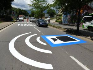 La señalización advierte sobre la presencia de cámaras de 'fotomultas'. - Suministrada/GENTE DE CAÑAVERAL