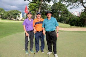 Chan Woo Jeong, Jairo Mora Duarte y Guillermo Ramírez.  - Elver Rodríguez /GENTE DE CAÑAVERAL