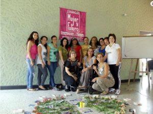 La Fundación desarrolla acciones de carácter individual, comunitario y social con mujeres principalmente de Santander, aportando a la generación de procesos de cambio en sus vidas.  - Tomada de Facebook /GENTE DE CAÑAVERAL