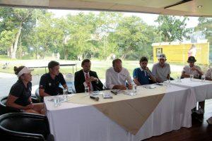 El miércoles se realizó la rueda de prensa con la presentación de deportistas nacionales e internacionales.  - Elver Rodríguez/GENTE DE CAÑAVERAL