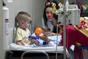 Los voluntarios de la fundación Doctora Clown estarán en los diferentes centros comerciales de Bucaramanga.  - Suministrada/GENTE DE CAÑAVERAL