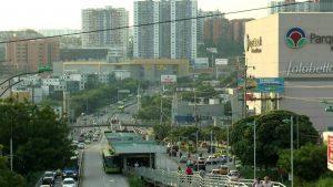 La vía de acceso a Parque Caracolí, por la paralela, estará cerrada durante dos meses. El tráfico se desviará por la autopista.  - Suministrada/GENTE DE CAÑAVERAL