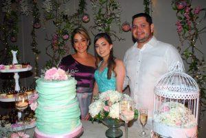 Claudia Jimena Fracica, María José Cárdenas y Carlos Cárdenas. - Heliberto Cáceres/GENTE DE CAÑAVERAL