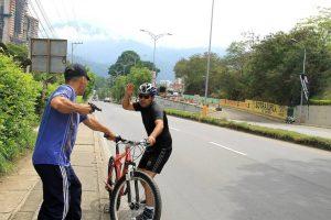 Las autoridades recomiendan a los ciclistas llevar los números del cuadrante y realizar sus recorridos en grupo. - Archivo (Montaje) /GENTE DE CAÑAVERAL