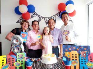 Evelinda Osorio, Joselín Maldonado, Julieta Velasco, Jairo Velasco y Javier Maldonado.  - Suministrada/GENTE DE CAÑAVERAL