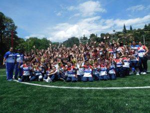 Los estudiantes se destacaron en los Juegos Súperate 2017.  - Suministrada/GENTE DE CAÑAVERAL