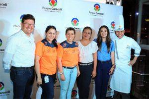 Fernando Cedeño, Isabel Forero, Luisa Hernández, Lina Chaparro, Mónica Chacón y el Chef Emiro Mora. - Suministrada /GENTE DE CAÑAVERAL