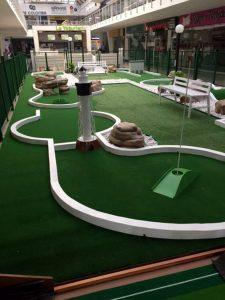 Niños y grandes podrán disfrutar de las canchas de golf del centro comercial Cañaveral.  - Suminisrada/GENTE DE CAÑAVERAL