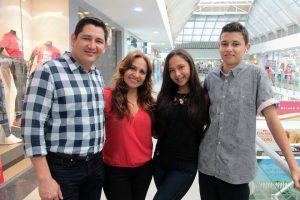 Juan Carlos Sánchez, Nathalia García, Luz García y Diego Díaz.  - Elver Rodríguez /GENTE DE CAÑAVERAL