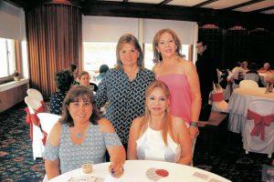 Isabel Galvis, Nidi Aristizábal, Gloria de Galvis y Jennit Toledo. - Elver Rodríguez /GENTE DE CABECERA