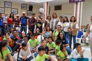 """Luz Marina Cadena, directora ejecutiva de la Fundación, asegura que Sanar significa """"la posibilidad de ayudar en la lucha por salvar la vida de los niños con cáncer, la cúspide de mi realización en el aspecto humano"""". - Élver Rodríguez /GENTE DE CAÑAVERAL"""