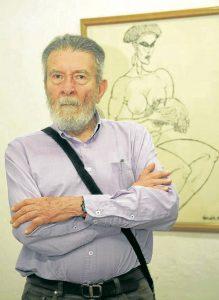 Rendón se ha dedicado al dibujo, pintura, grabado y serigrafía. Estudió en la Academia de Bellas Artes de Florencia y ha expuesto en países como Italia, Alemania y Cuba. - César Flórez/GENTE DE CAÑAVERAL
