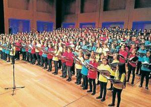 El 8 Encuentro coral Infantil y Juvenil de Santander se desarrollará también en el marco de este Festival. - Suministrada/GENTE DE CABECERA