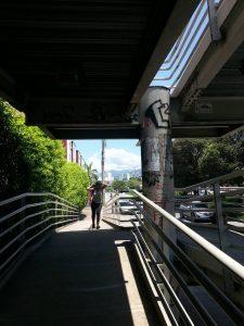 De acuerdo con las denuncias, en este puente se han registrado varios robos debido a la inseguridad y a la falta de iluminación.  - Suministrada/GENTE DE CAÑAVERAL