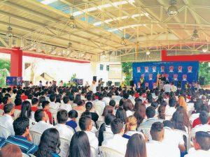 Estudiantes de colegios públicos y privados de Bucaramanga y el área metropolitana participarán en este debate organizado por el Cambridge.  - Suministrada/GENTE DE CAÑAVERAL