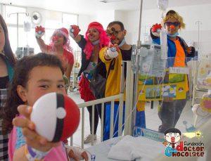 La fundación espera poder celebrar esta fecha con los niños hospitalizados de Bucaramanga.  - Facebook/GENTE DE CAÑAVERAL