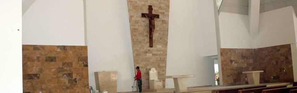 Este fin de semana, parroquia Santa María Reina abre sus puertas