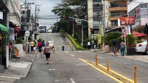 Los comerciantes y conductores se mostraron inconformes por el cierre.  - Suministrada/GENTE DE CAÑAVERAL