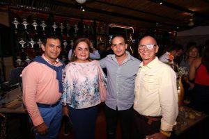 Álvaro Velasco, Lucía Vásquez, Alejandro Torres y William Gómez.  - Élver Rodríguez /GENTE DE CAÑAVERAL