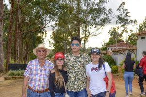 Jairo Reyes, Diana Carolina Reyes, Sebastián Reyes y Luz Adriana Bárcenas. - Suministrada /GENTE DE CAÑAVERAL